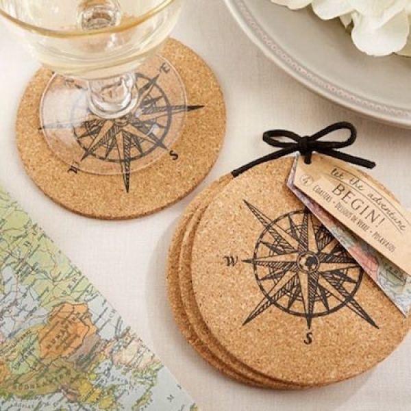 regalos de boda originales posavasos - Una Larga Lista de Regalos de Boda