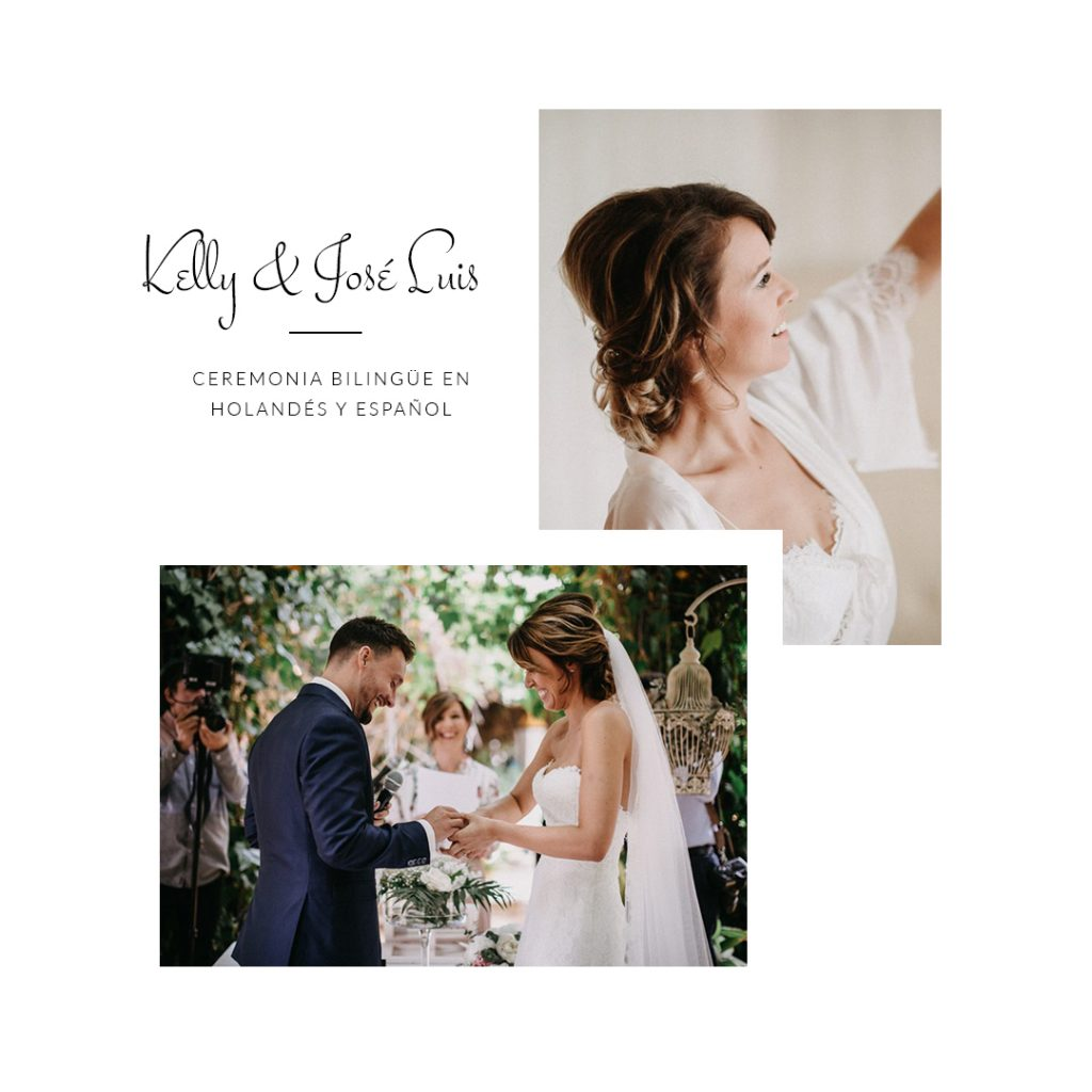 Kelly y Jose Luis Reseña - Wedding Celebrant in Seville (Diana Lacroix)