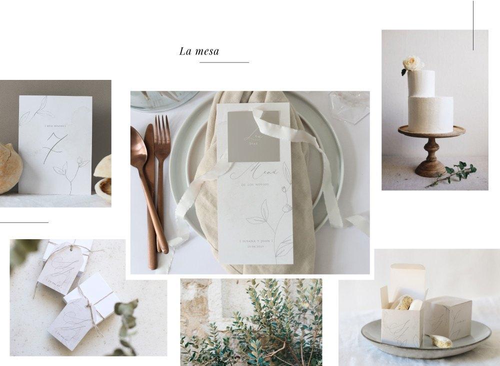 papeleria de boda cottonbird mesa - Las Invitaciones de Boda de Cottonbird: Elegancía y Delicadeza