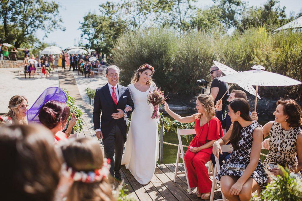 boda en finca prados moros Madrid 23 - Boda en un Embarcadero en Medio de la Sierra