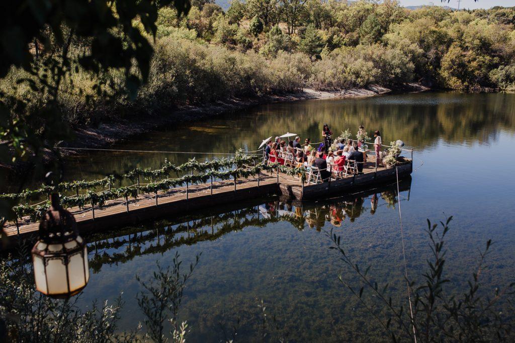 boda en finca prados moros Madrid 29 - Boda en un Embarcadero en Medio de la Sierra
