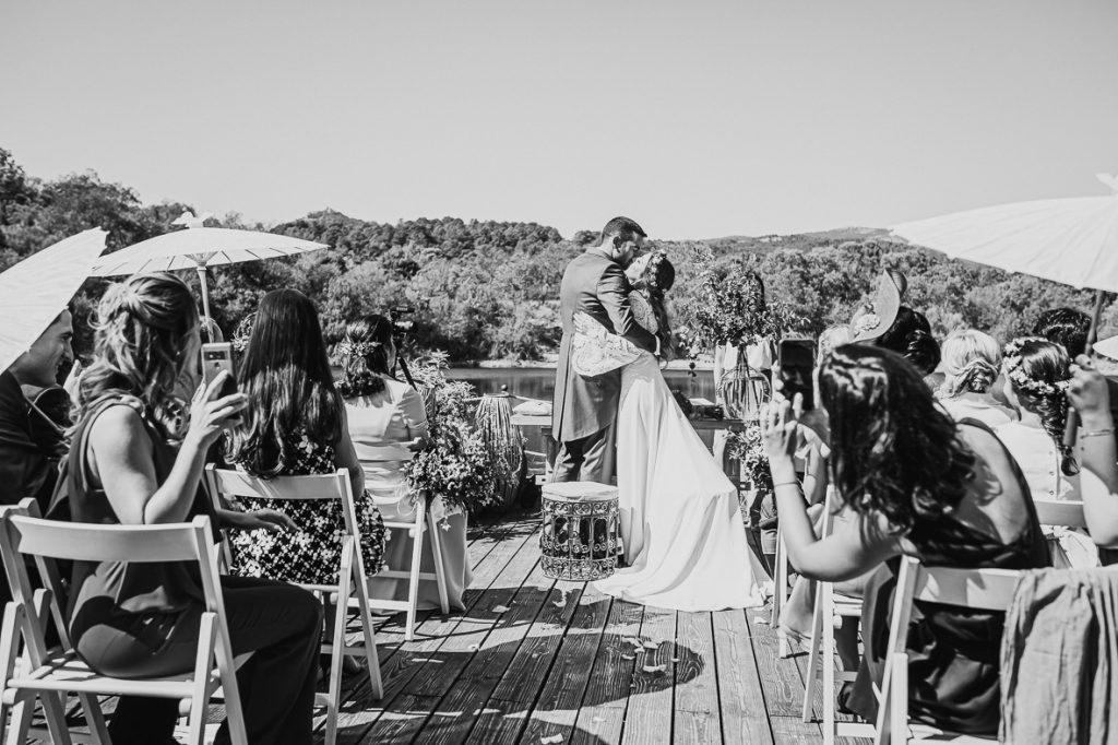 boda en finca prados moros Madrid 31 - Boda en un Embarcadero en Medio de la Sierra