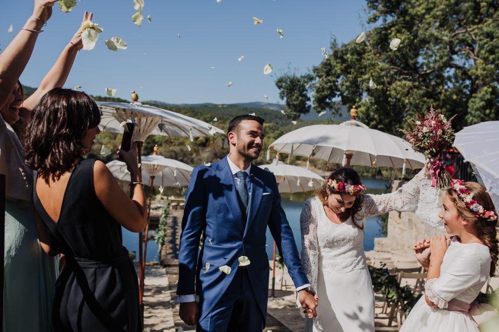 boda en finca prados moros Madrid 33 - Boda en un Embarcadero en Medio de la Sierra