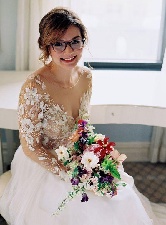 casarse con gafas - ¿Casarse con Gafas o Lentillas?
