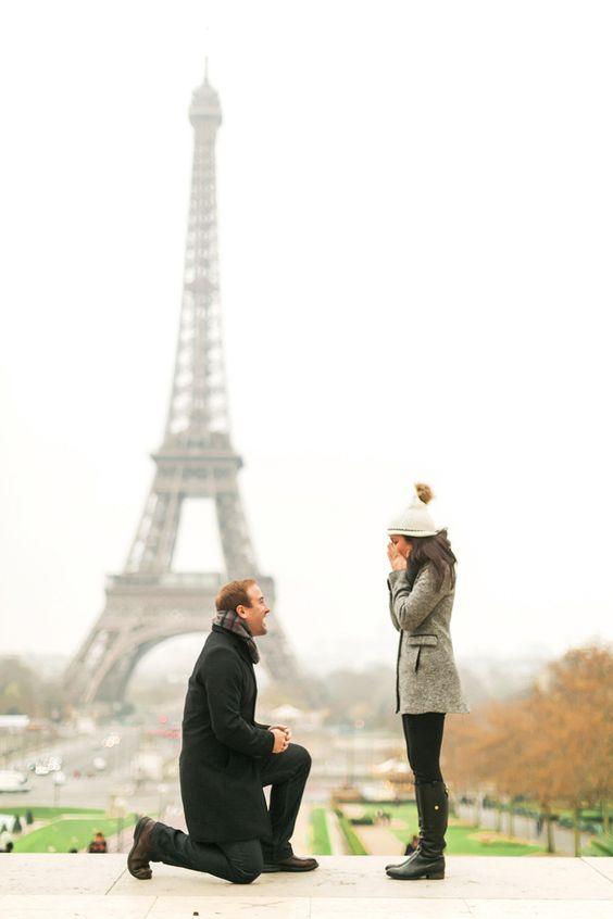 Cómo pedir matrimonio en San Valentín en Paris