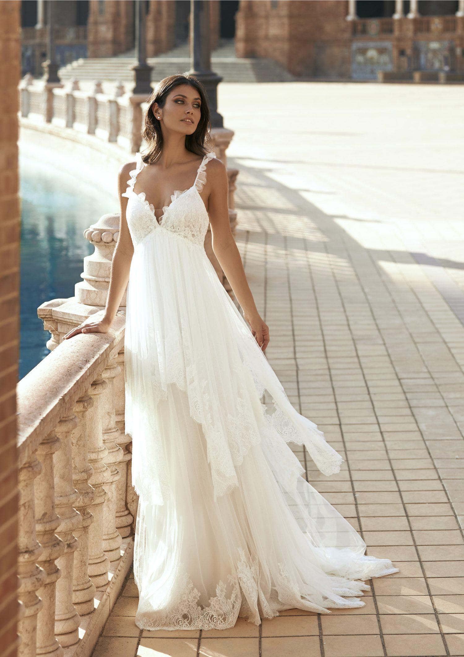 Pronovias vestidos de Novia 2021 Marchesa 20 - Marchesa la Nueva Colección de Vestidos de Novia Pronovias 2021
