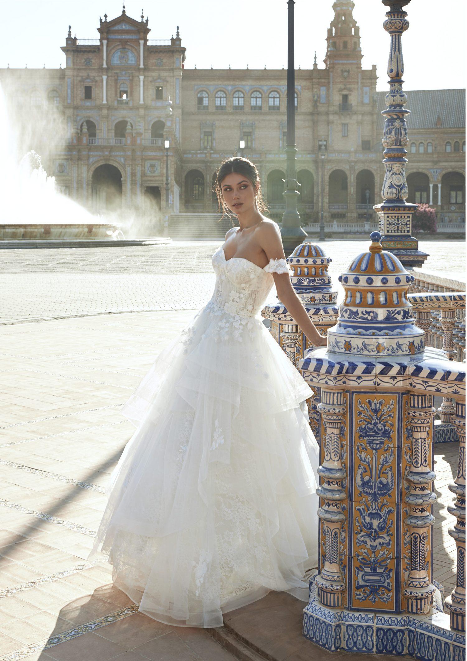 Pronovias vestidos de Novia 2021 Marchesa 26 - Marchesa la Nueva Colección de Vestidos de Novia Pronovias 2021