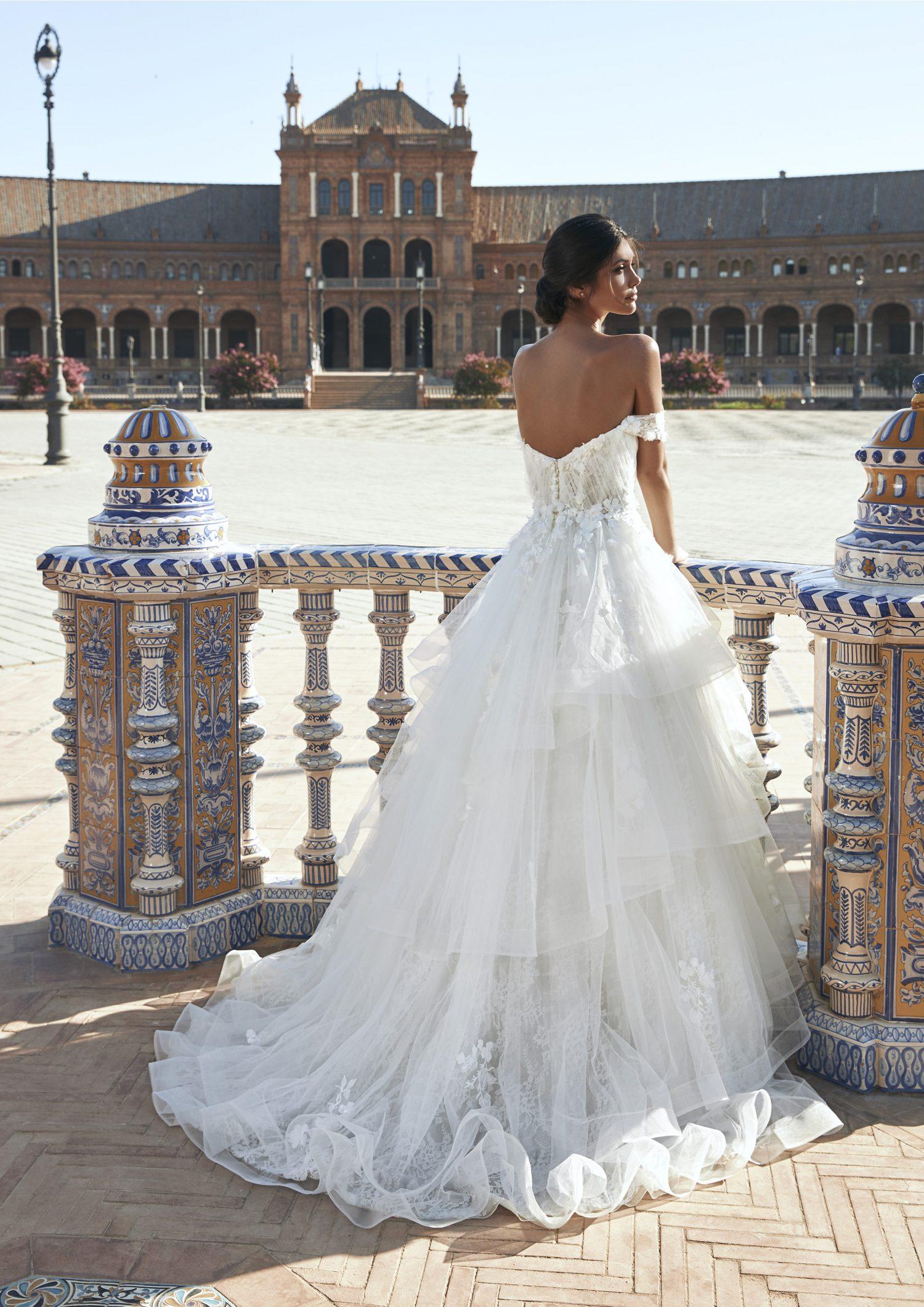 Pronovias vestidos de Novia 2021 Marchesa 27 - Marchesa la Nueva Colección de Vestidos de Novia Pronovias 2021