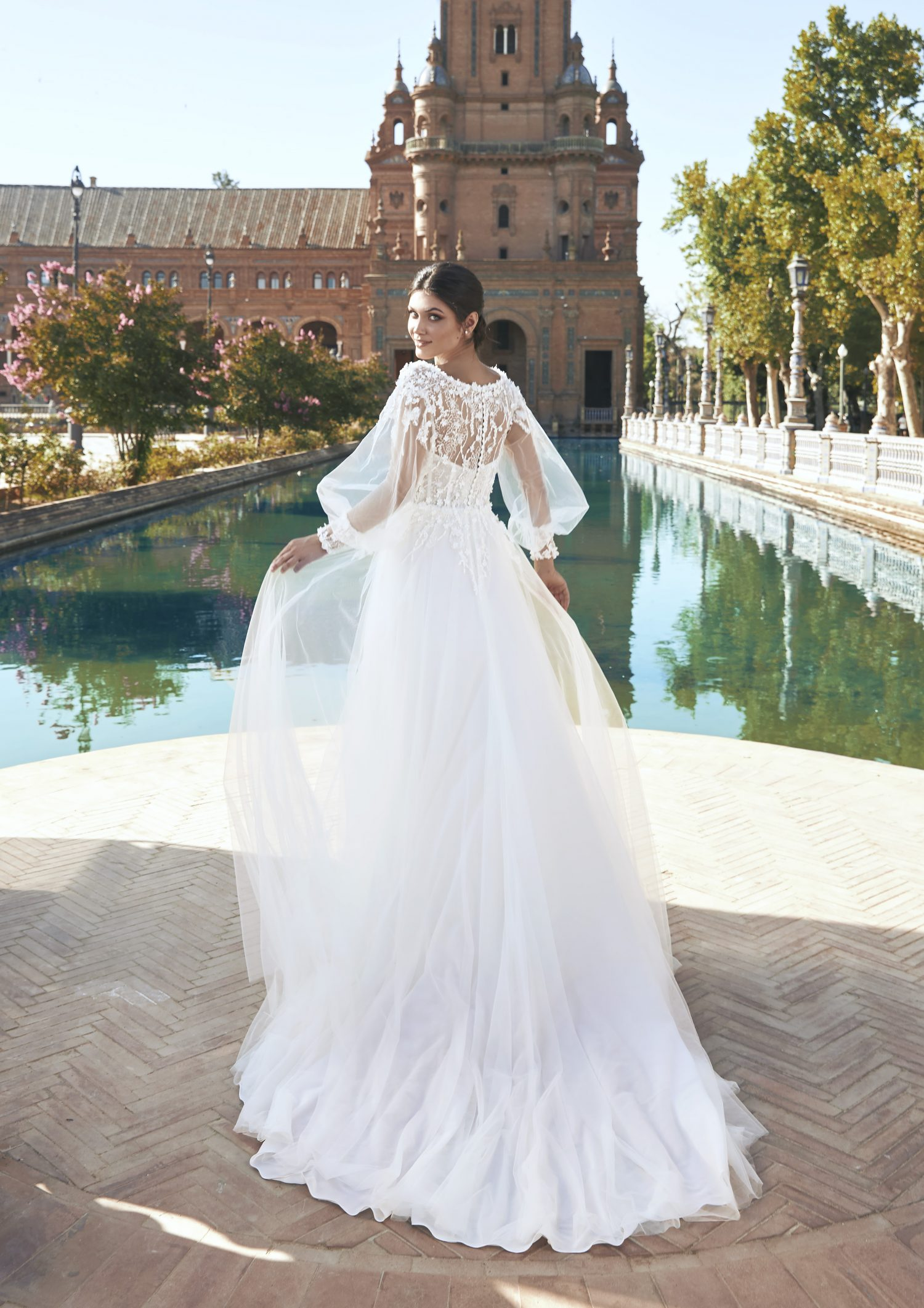 Pronovias vestidos de Novia 2021 Marchesa 85 1 - Marchesa la Nueva Colección de Vestidos de Novia Pronovias 2021