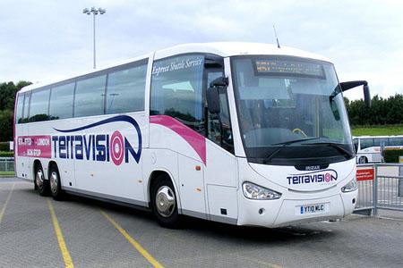 Resultado de imagen de bus aeropuerto londres