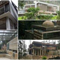Los dueños de las casas de lujo en los cerros de Bogotá rompen los sellos y han continuado los trabajos