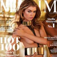 Stella Maxwell elegida la mujer HOT 2016