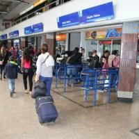 Más de 200.000 viajeros se moverán en el terminal de Transportes de Bogotá
