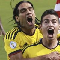 El Tigre Falcao y James  juntos nuevamente en la selección Colombia
