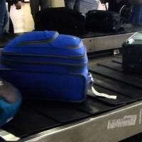 Cuidado con las maletas internacionales en el aeropuerto el dorado