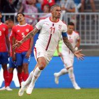 Costa Rica pierde ante Serbia en Rusia 2018
