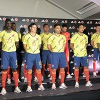 Adidas presenta en Japón la nueva Camiseta de la Selección Colombia.