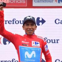 Nairo Quintana el nuevo líder de la Vuelta a España