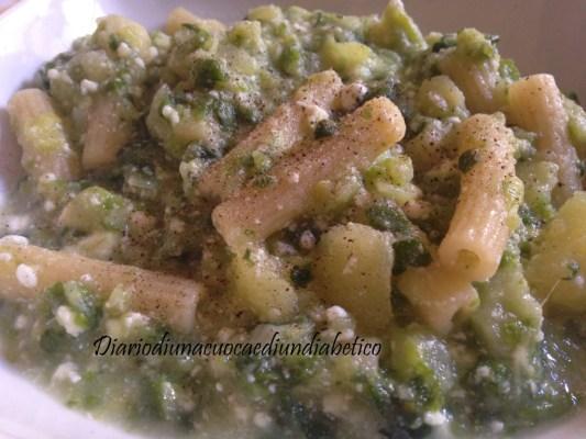 Pasta verza patate e ricotta