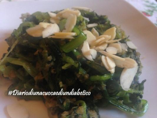 verdure saltate con mandorle