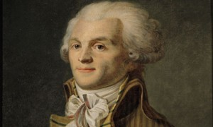 O advogado Robespierre, de classe média, foi um dos chefes da Revolução Francesa