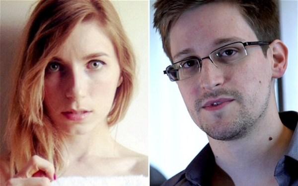 Snowden vivia confortavelmente com a namorada Lindsay no Havaí