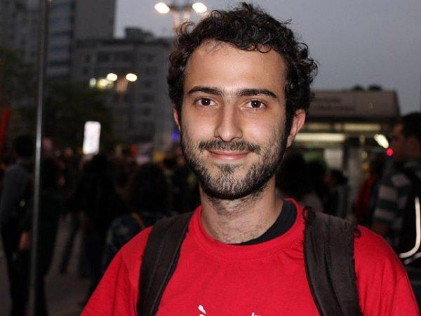 Guilherme Kranz, estudante e membro da Juventude Às Ruas
