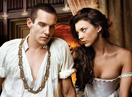 A versão de Tudors de Henrique VIII e Ana Bolena