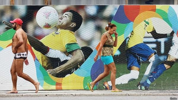 A Copa no Brasil: fortuna para uns, desgraça para outros