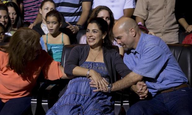 Gerardo Hernández e a mulher