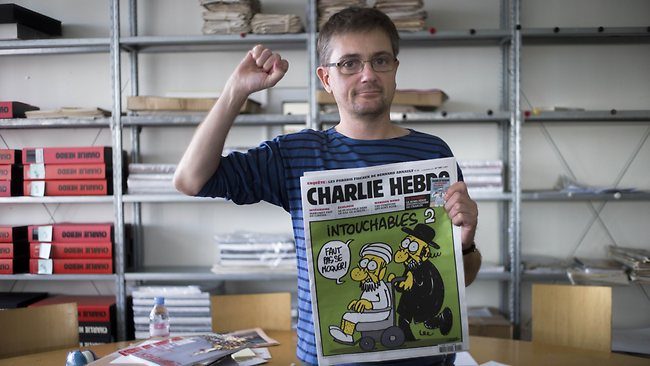 O cartunista Charb, do Charlie Hebdo, morto no atentado
