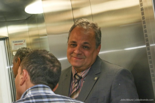 O juiz Luiz Moura Correia