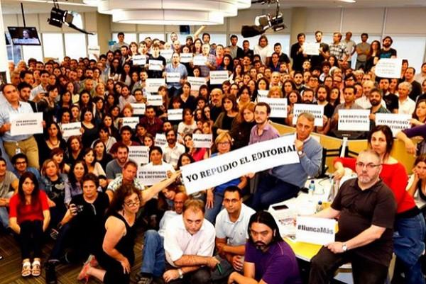 Jornalista é jornalista, dono é dono: o protesto da redação do La Nación