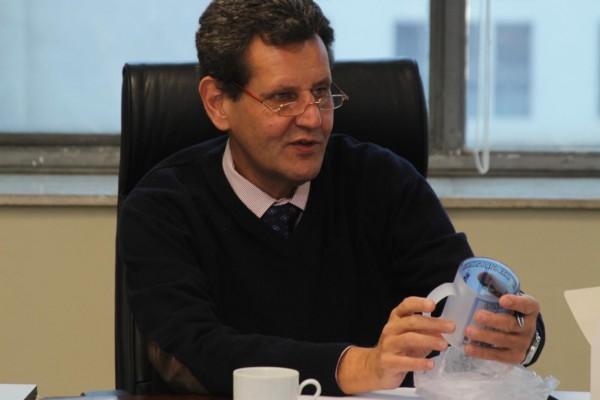 O secretário Marcos Penido, acusado de intermediar doações para o PSDB