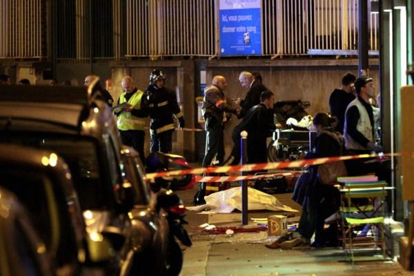 Paris vive noite de terror