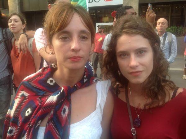 Francine Klienann e Elisa Heidrich