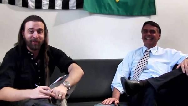 Moura e Bolsonaro