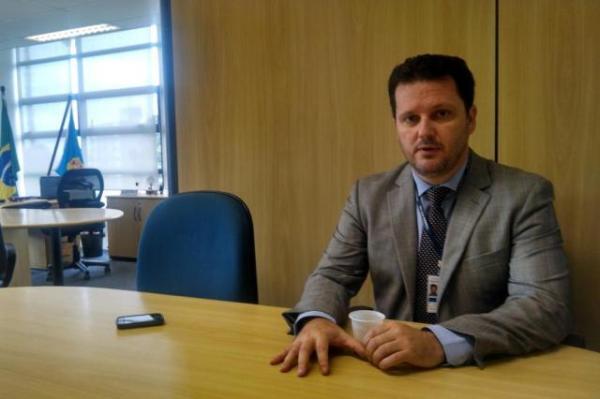 O delegado Igor Romário de Paula