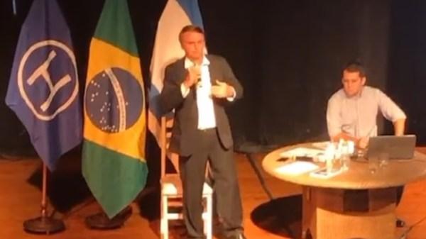 Bolsonaro na Hebraica
