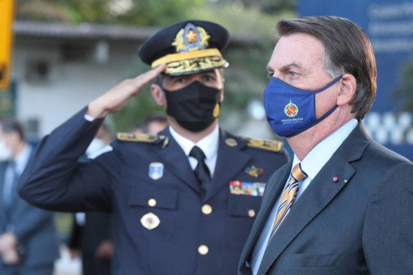 Bolsonaro participates in PMs graduation