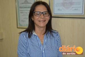 Andreia Braga, diretora da 9ª Gerência de Educação da PB
