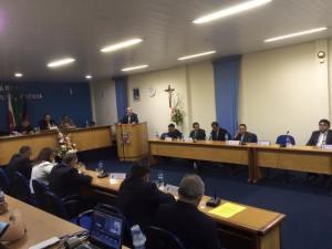 Câmara Municipal estava agitada na sessão desta segunda (25)