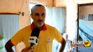 Francisco Damião, filho da idosa de 93 anos, nega abandono e exploração
