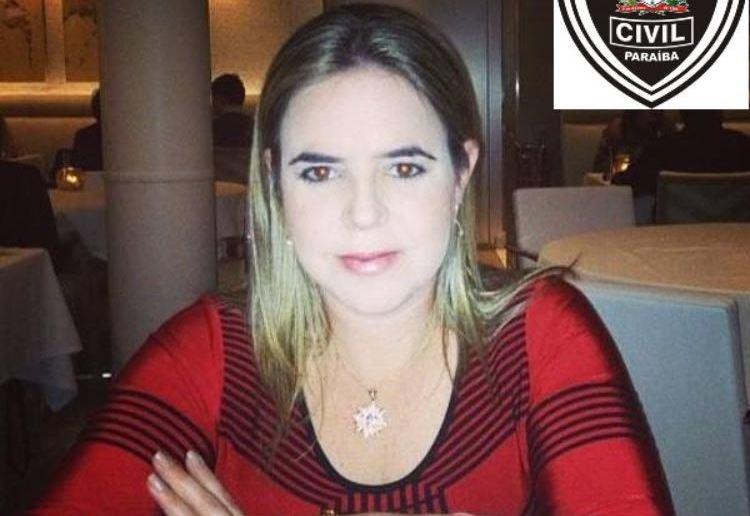 A empresária Mariana está sendo procurada pela Polícia