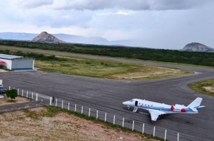 Aeroporto receberá voos comerciais (foto: Patos Online)