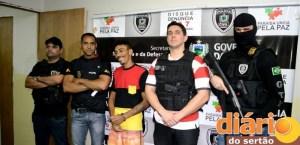GTE de Sousa e Cajazeiras prendem foragido