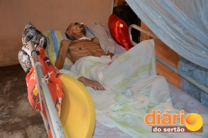 José Pedro está acamado há cinco meses