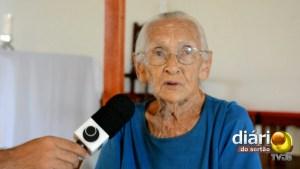 Dona Maria da Conceição pede diariamente, na paróquia de Cajazeiras, chuva para o Sertão