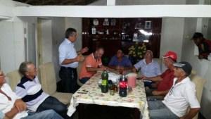 Encontro político na cidade de Bonito de Santa Fé