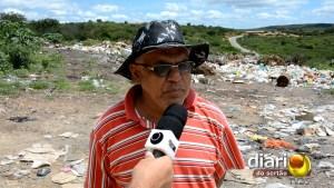 Ex-vereador Sebastião Lauderi denuncia o descaso